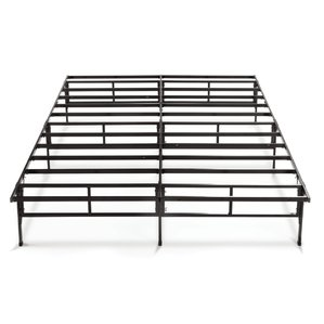king size bed frames easy to assemble smartbase bed frame OBRDWID