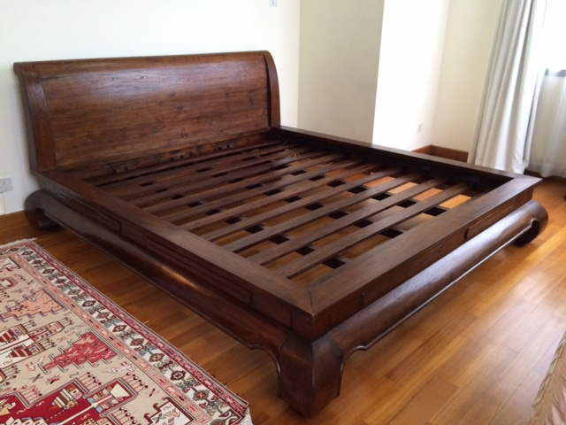 king size bed frames origin asia solid teak wood king size bed frame AXOWISQ