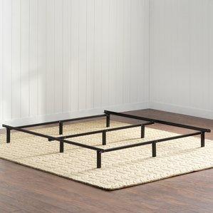 king size bed frames wayfair basics metal bed frame LMCROVS