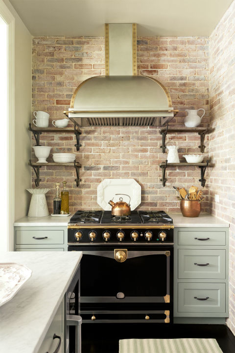 kitchen backsplash ideas brick backsplash PQWBINT