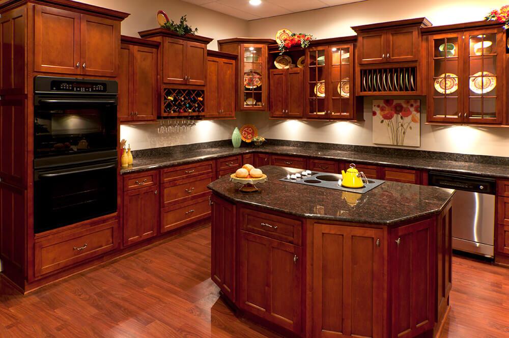 kitchen cabinets cherry shaker cherry shaker KIQUCHA