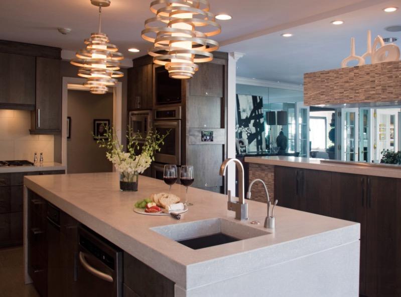 kitchen countertop ideas: 30 fresh and modern looks OJCRRXK