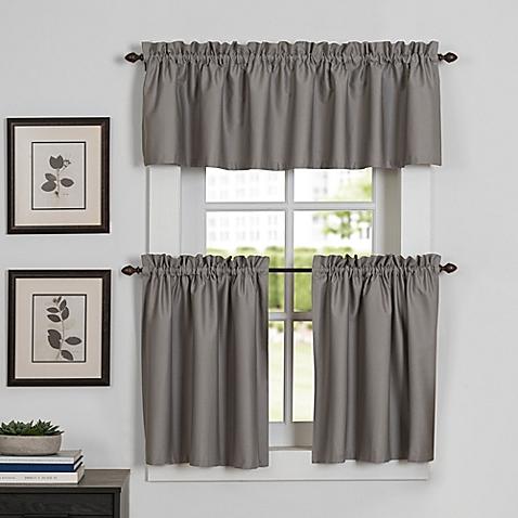 kitchen curtain newport kitchen window curtain tier and valance ATKNNSV