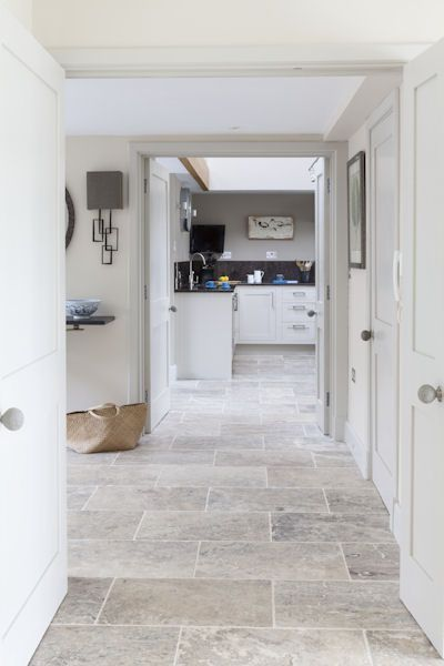 kitchen floor tile love the wall colors use bellstoneu0027s pewter travertine, tumbled - tumbled  tou2026 RZCYLDM