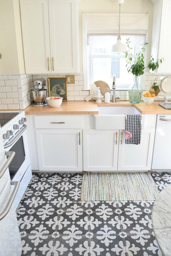 kitchen floors summer home tour kitchen updates XRAJFCO