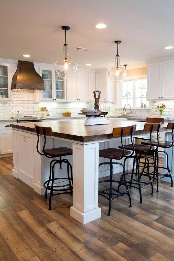 kitchen island design 19 must-see practical kitchen island designs with seating CJJKNCM