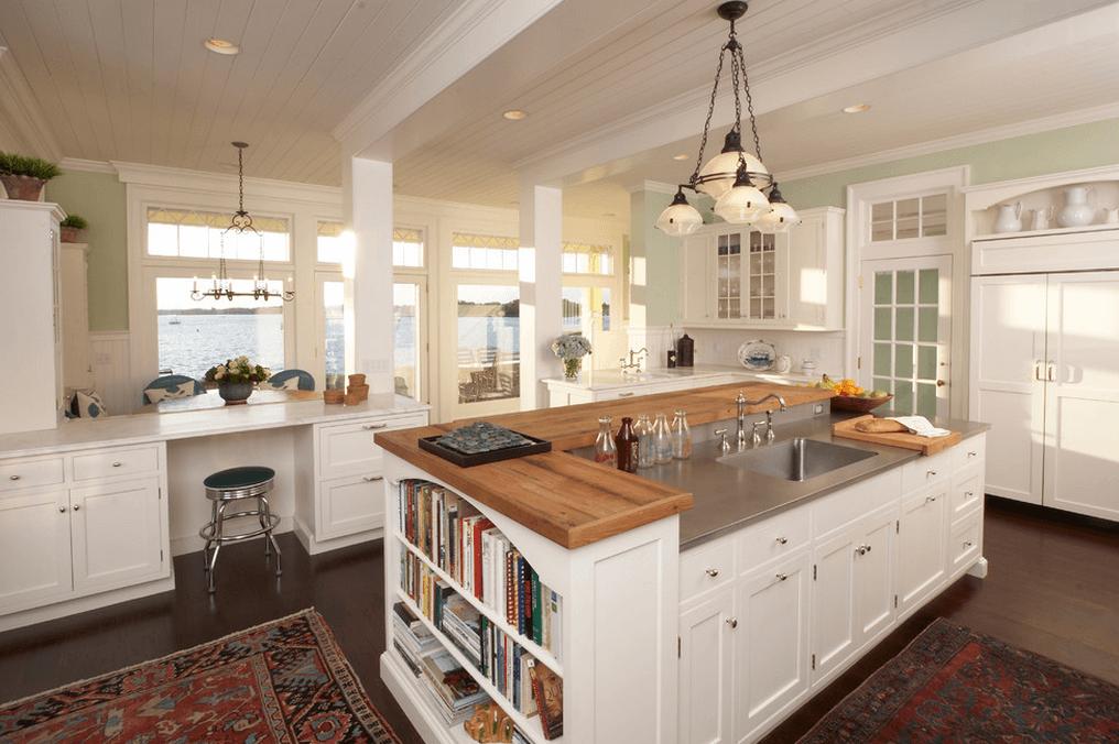 kitchen island design make it multi-level CFLQYQI