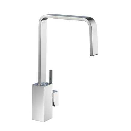 kitchen taps lamona chrome cubic single lever tap VFFPZXU