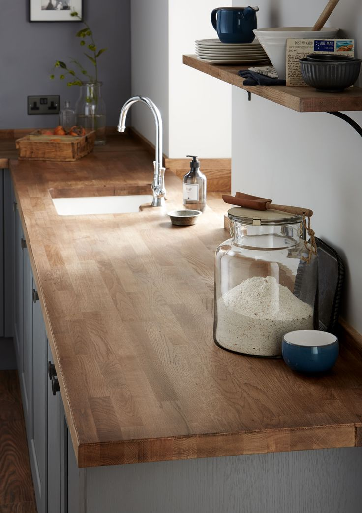 kitchen worktop a classically inspired swan neck tap and a solid oak block worktop create RZMSSHF