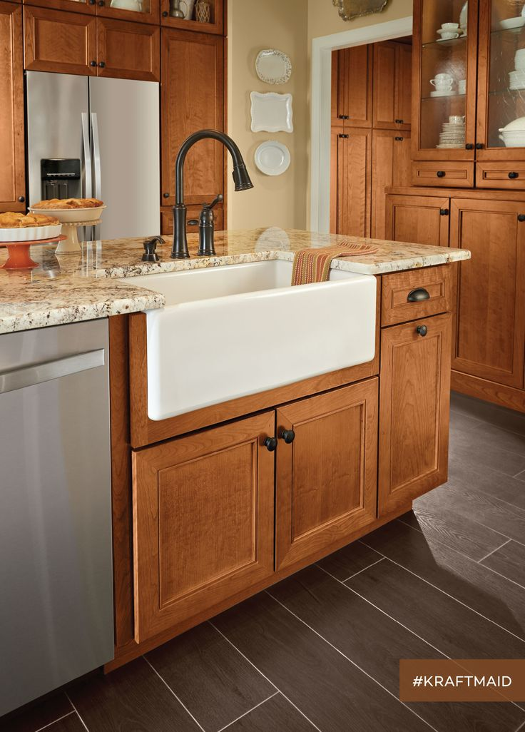 kraftmaid cabinets this farmhouse kitchen sink base represents just one of the specialized  kitchen EOOFRZD