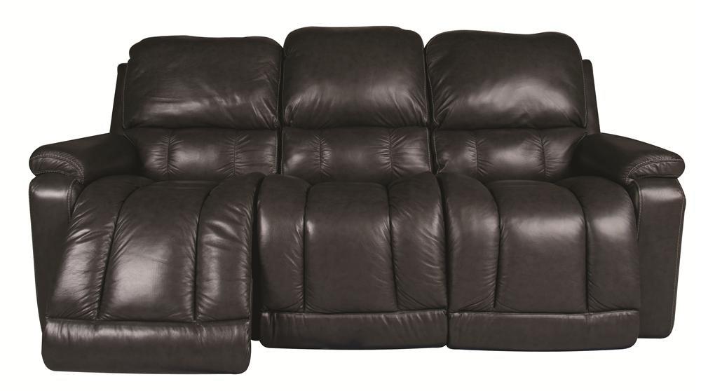la-z-boy greyson leather reclining sofa - morris home - reclining sofa PKIIBLH
