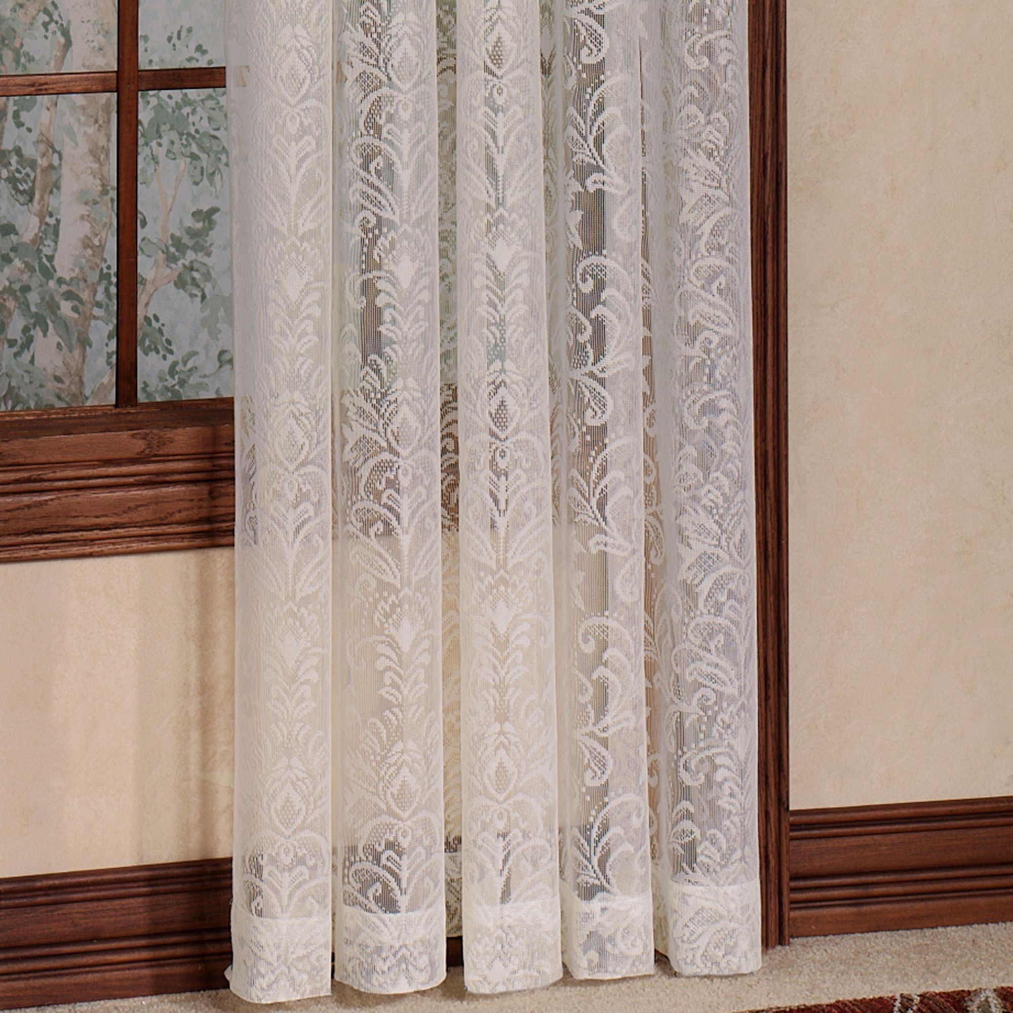 lace curtains mia lace curtain panel 56 x 84 MAURKNY