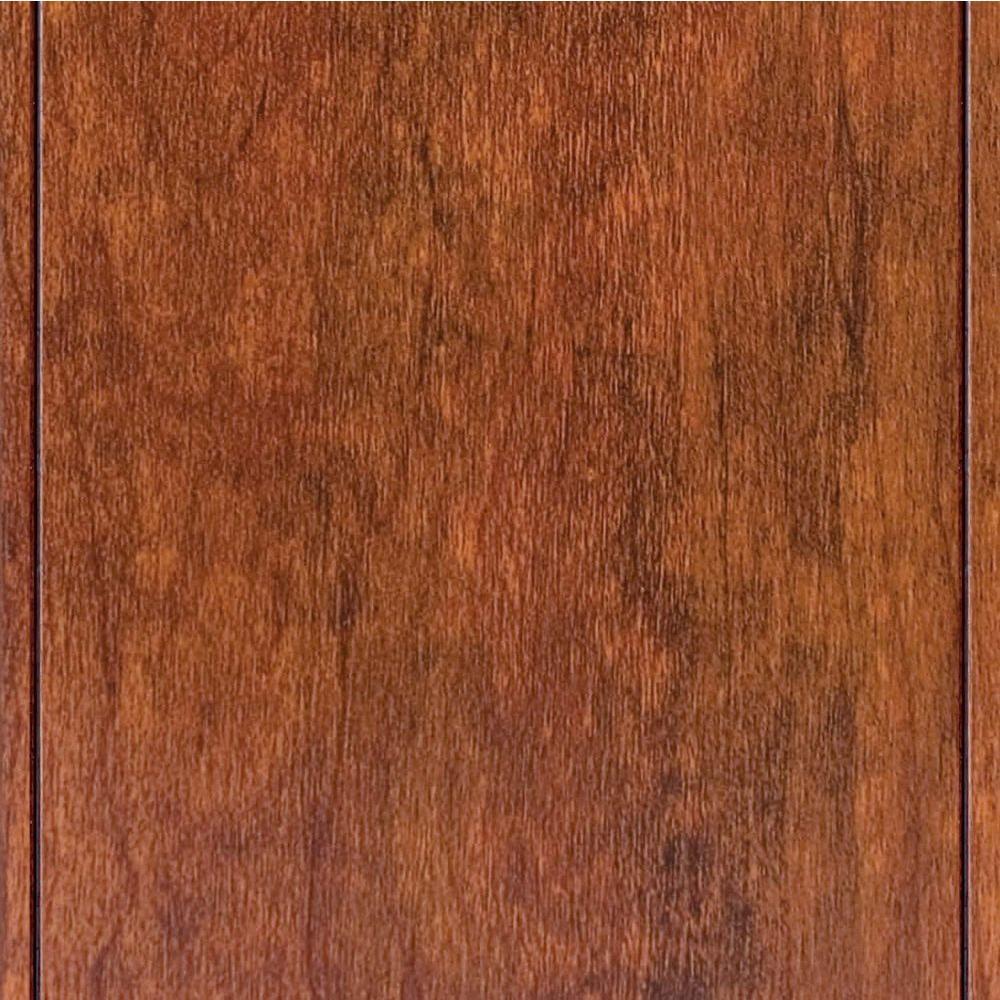 laminate wood flooring high gloss keller cherry 8 mm thick x 5 in. wide DVMFDUT