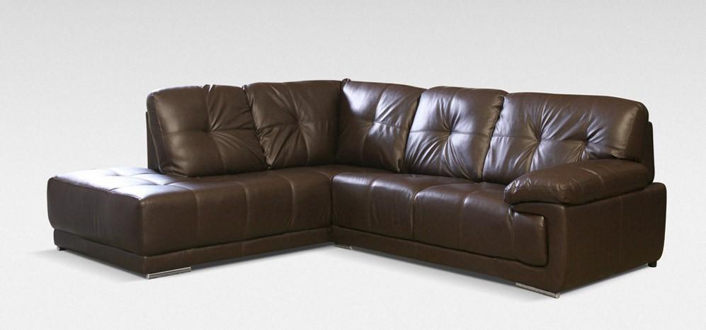 leather corner sofa maxim corner lhf brown - leather corner sofas - sofas UVLSHVI