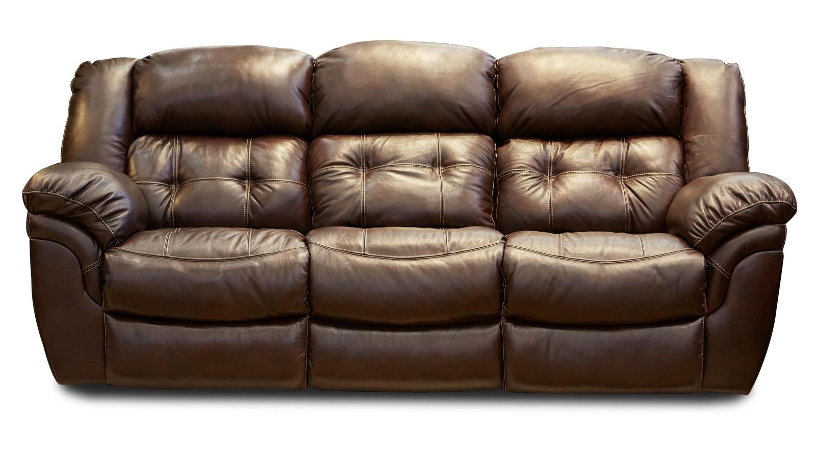 leather furniture cheyenne whisky reclining sofa DIXGYRF