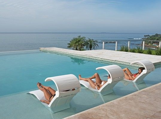 ledge lounger in-pool furniture is the perfect finishing touch to any pool HZGGQIM