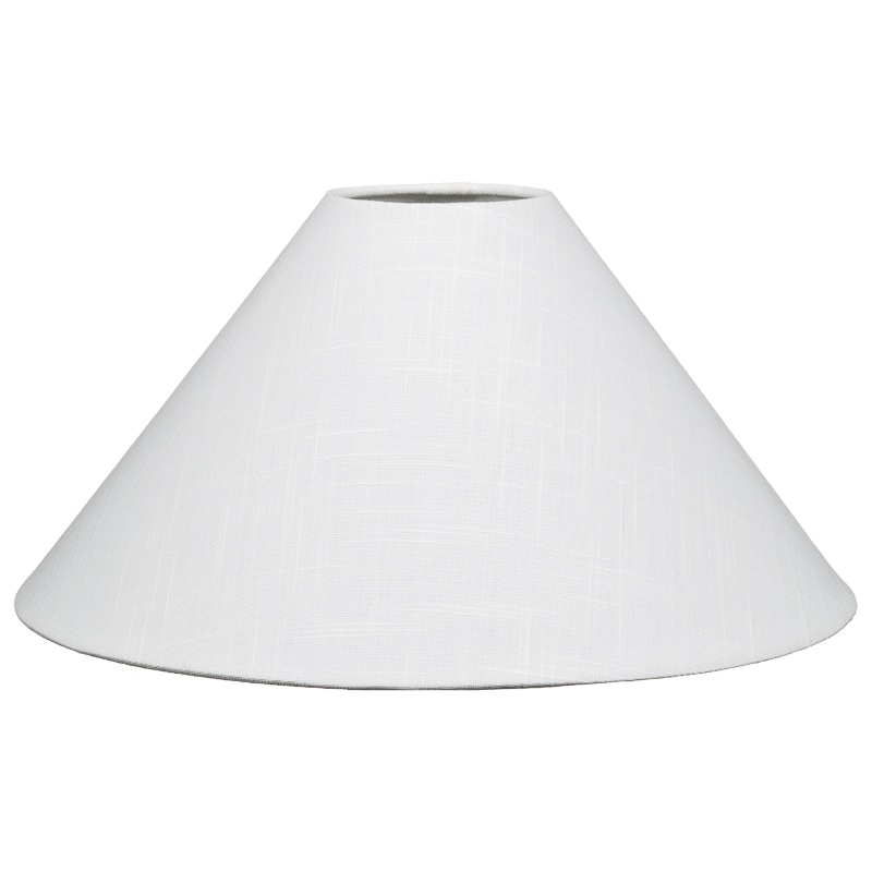 light shade 308099-14inch-linen-white-light-shade QZJMBAK
