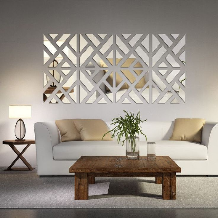 living room mirrors the mirrored chevron print wall decoration is a beautiful decorative  addition to VRVUIEX