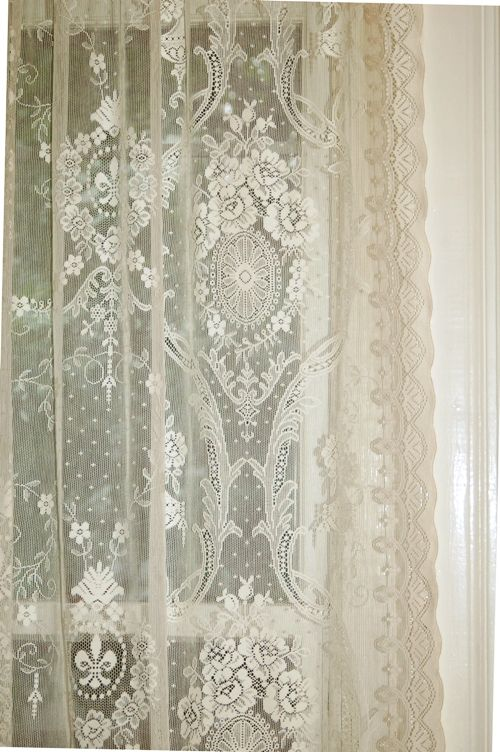 love lace curtains AJXJDAK