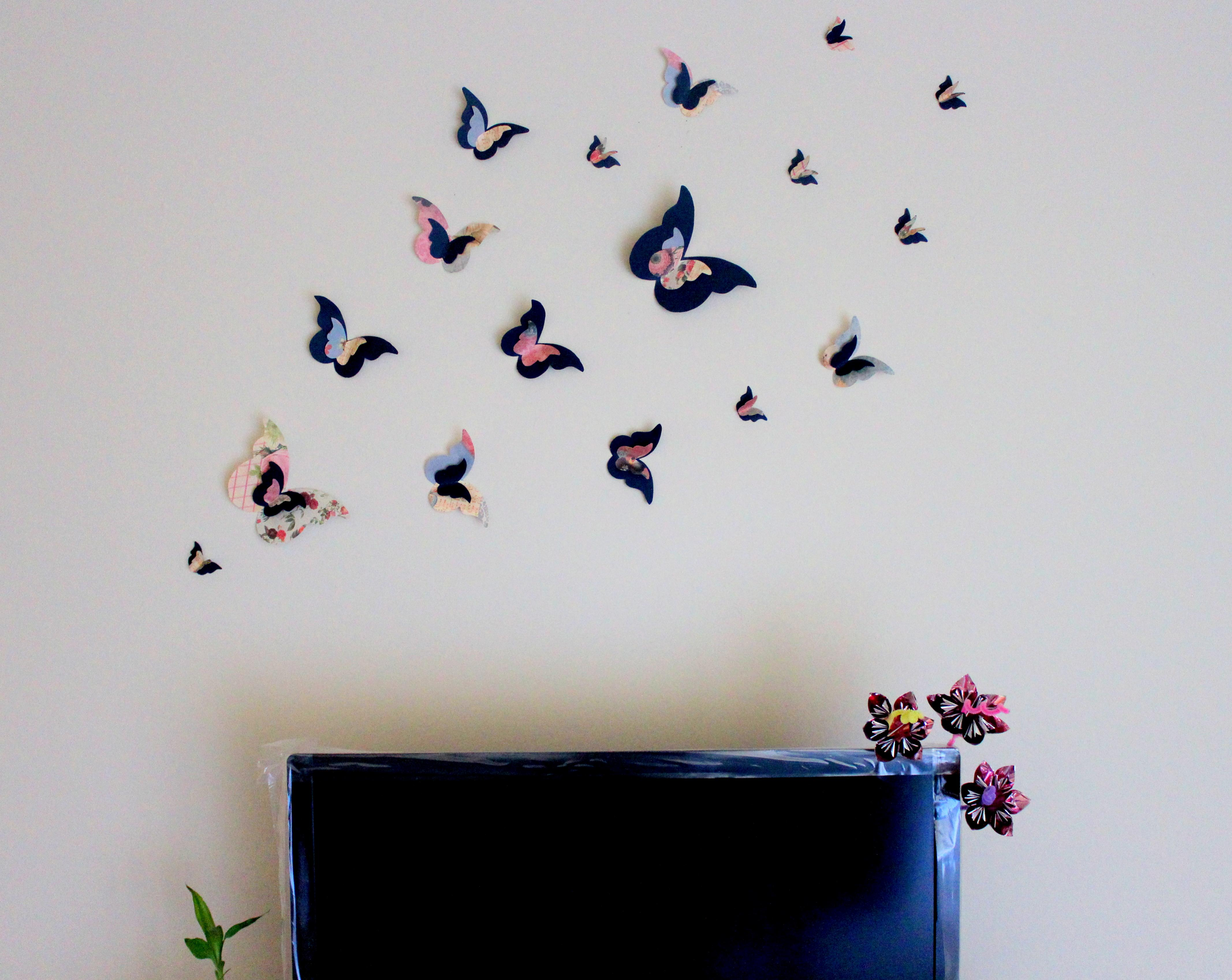 loved sharing my new handmade butterfly wall decor TLOWKQB