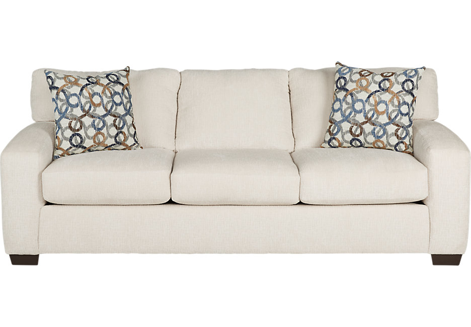 lucan cream sleeper sofa - sleeper sofas (beige) OJZQWOS
