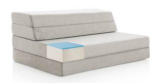 lucid 4-inch gel memory foam folding mattress/ sofa WELOKPK