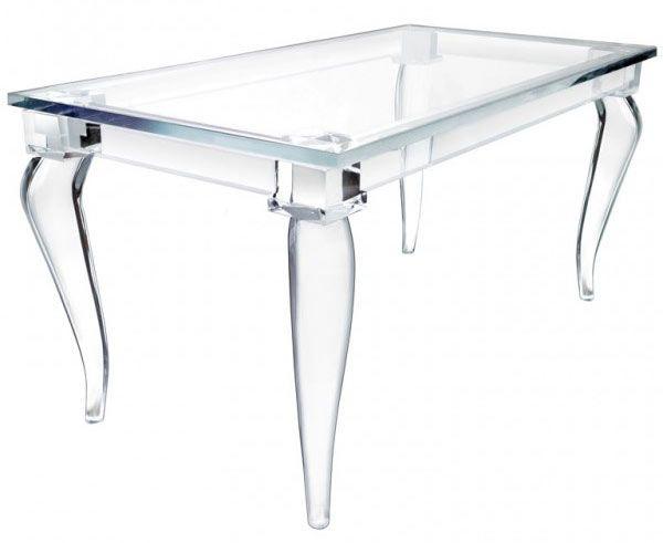 magic design of alexandra von furstenbergu0027s acrylic furniture LUCEYLU