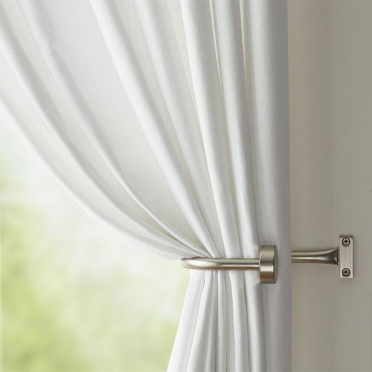 make your room elegant by simple curtain tie backs YMZWIKM