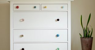 mismatched dresser knobs abeautifulmess.com XJBCIDY