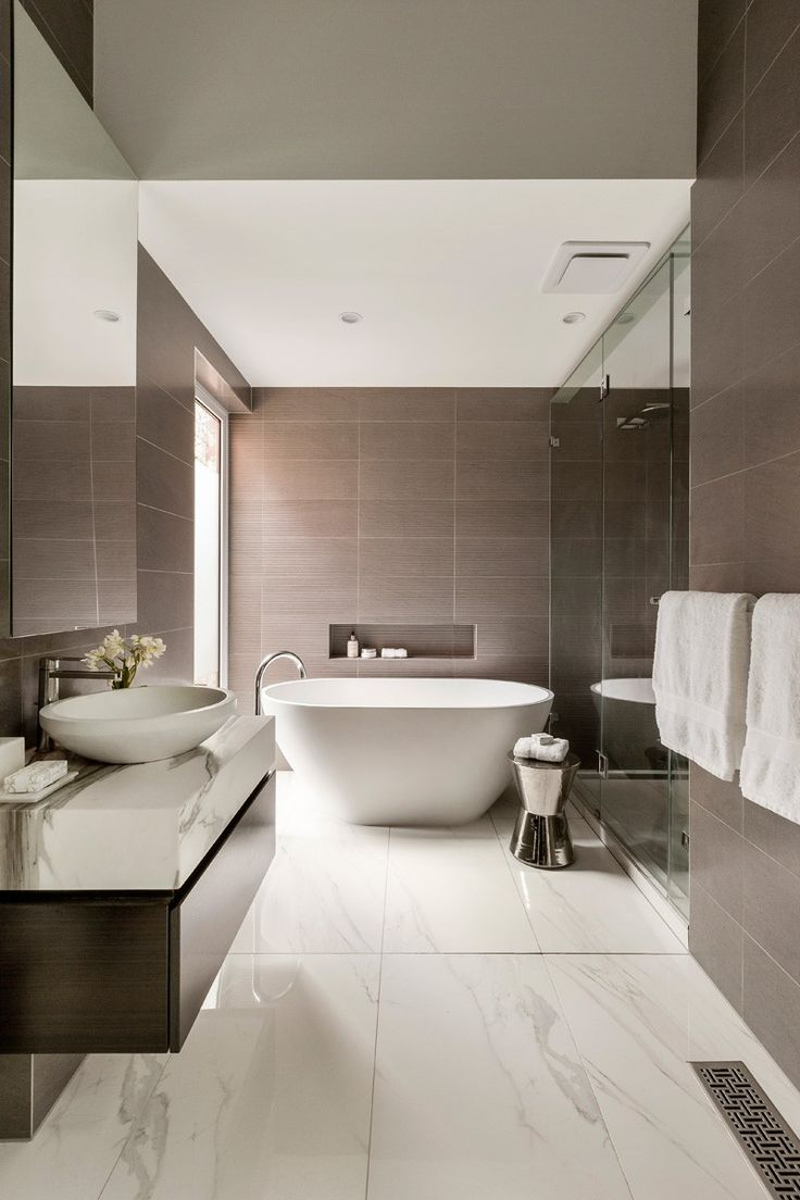 modern bathroom design contemporary brown and white bathroom // curva house by lsa architects GDDOPIA