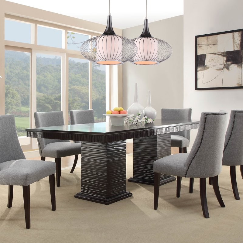 modern dining table cadogan extendable dining table UFLWQSM