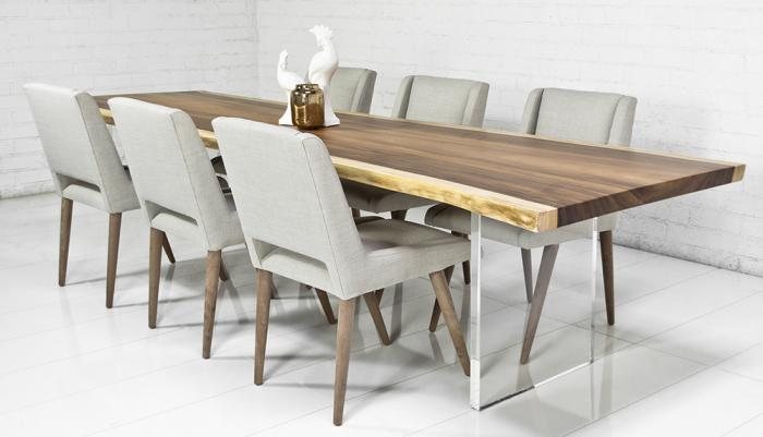 modern dining table eco slab dining table BTPXABC