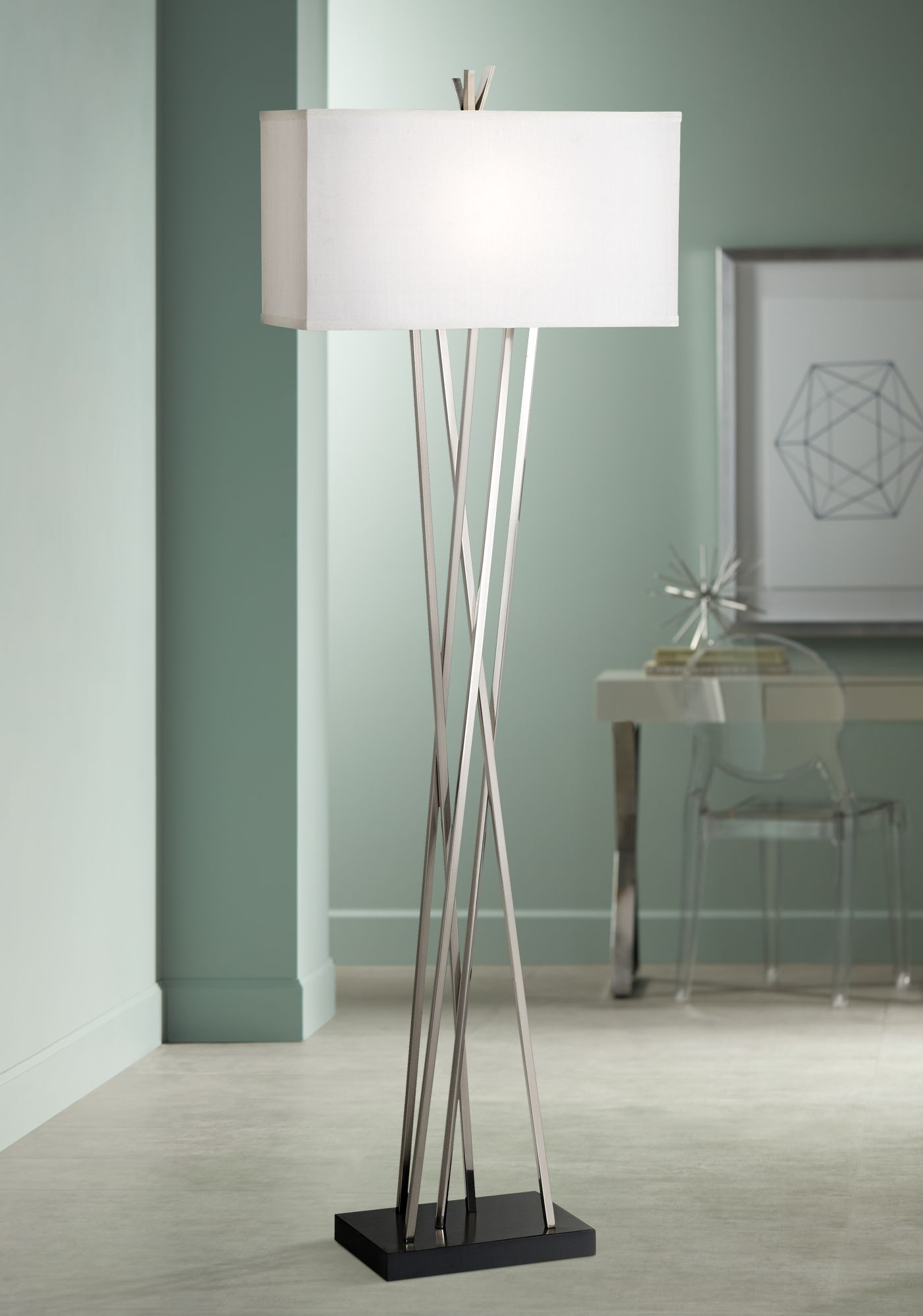 modern floor lamps possini euro design asymmetry floor lamp YMMWJIY