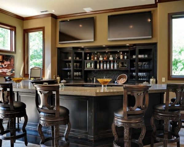 modern home bar designs NWYYBEH