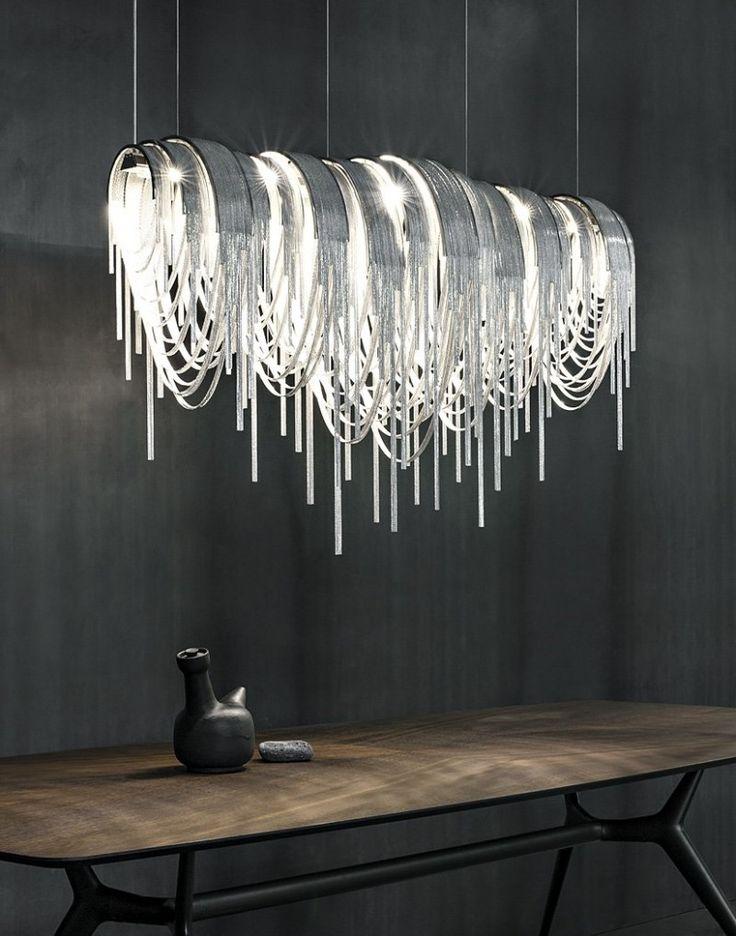 modern lighting studio 14 have designed volver, an led suspension light for manufacturer  terzani PWHNODI