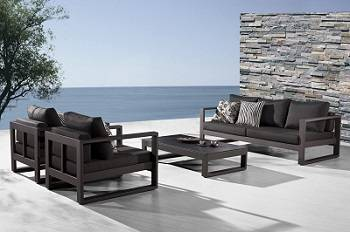 modern outdoor furniture amber collection EDIGWBE