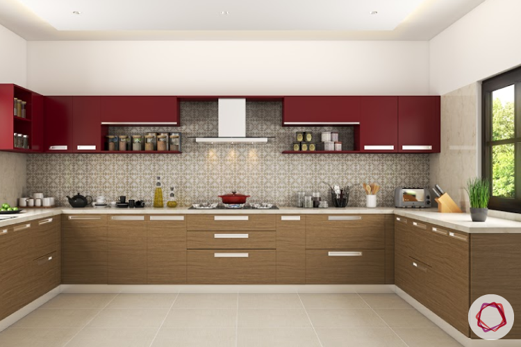 modular kitchen cabinets contrasting kitchen cabinets NGWCYLP