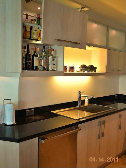 modular kitchen cabinets large modern l-shaped eat-in kitchen idea in other with a single-. save PRKCNZB