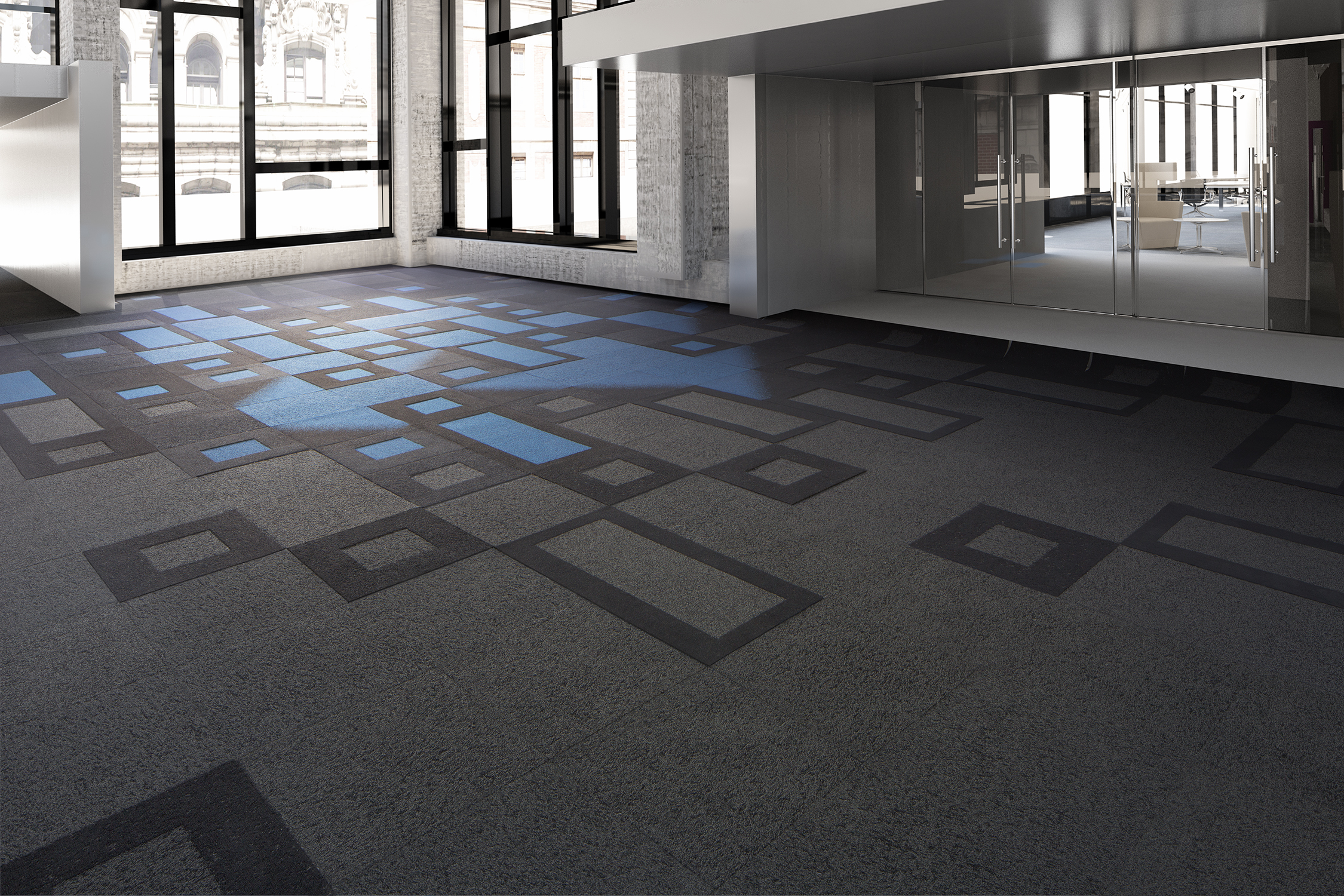 mohawk carpet tiles mohawk groupu0027s new 3d topography collection enables the creation of a  unique LREFONI