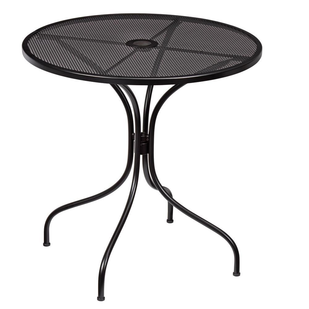 nantucket round metal outdoor bistro table AEJCLTP