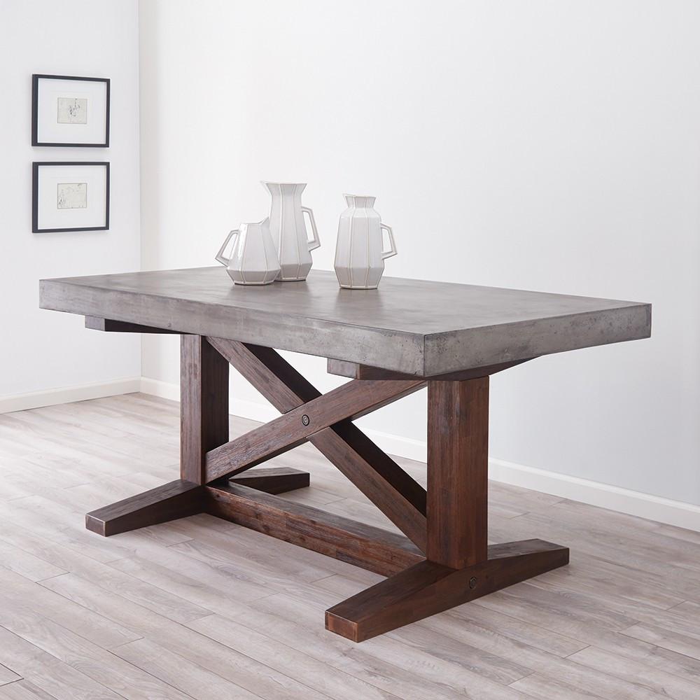 nativestone collection - 72-inch trestle table UPBJEBC