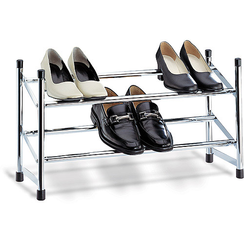 neu home expandable shoe rack, chrome ROBHEKE