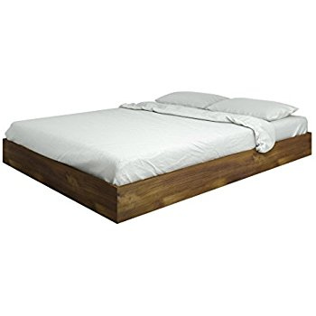 nocce queen size bed 401260 from nexera, truffle UKCYCZR