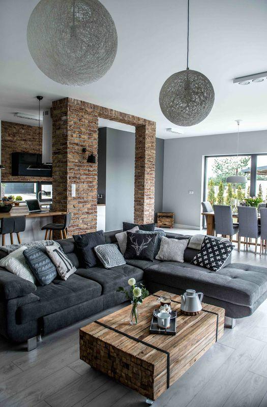 nordic gray modern home interior design ONTFXGQ