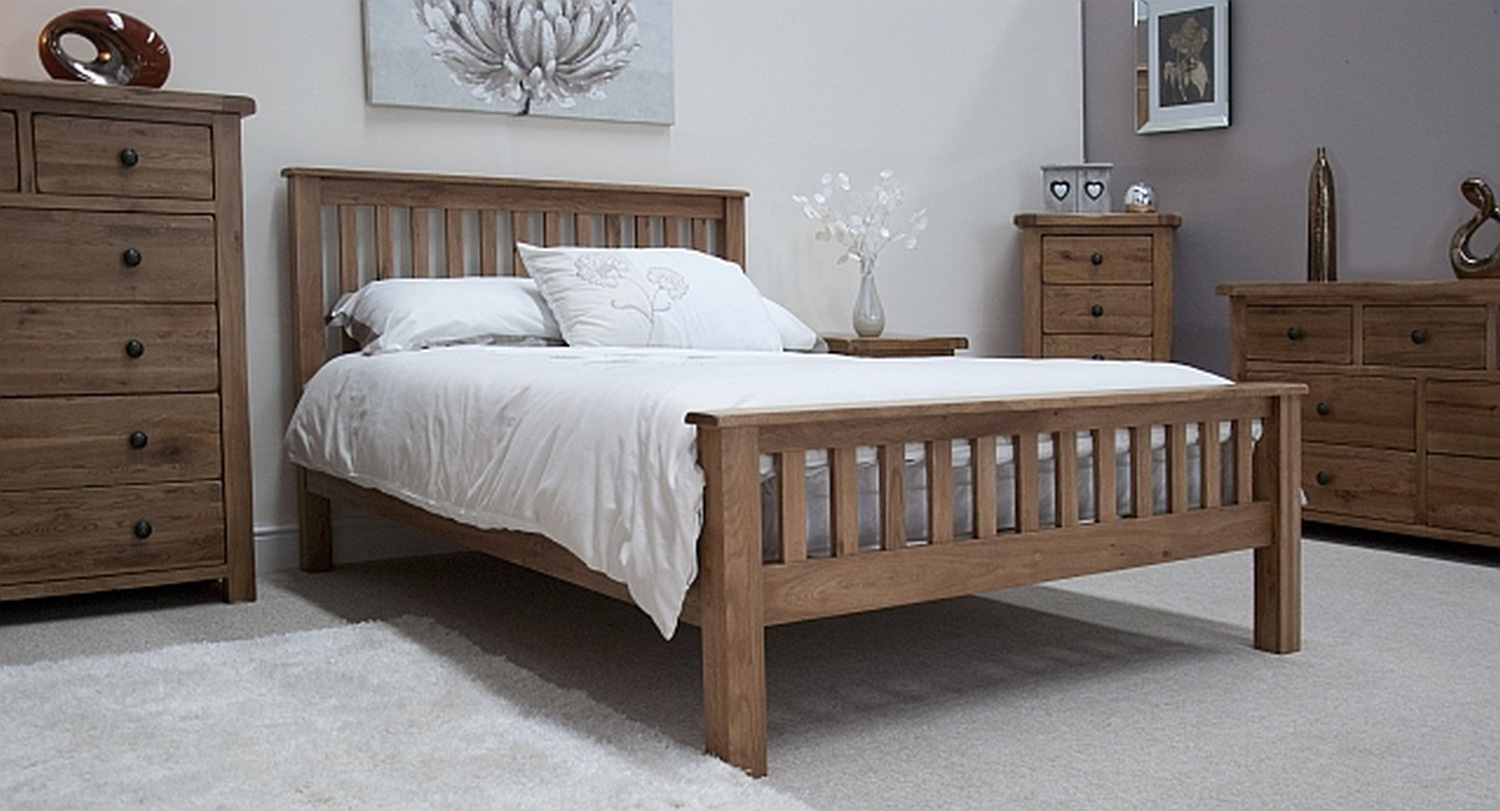 oak bedroom furniture sets design TYYHXQZ