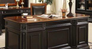 office desk office furniture/office desks - allegro cherry/black XFKHGSJ