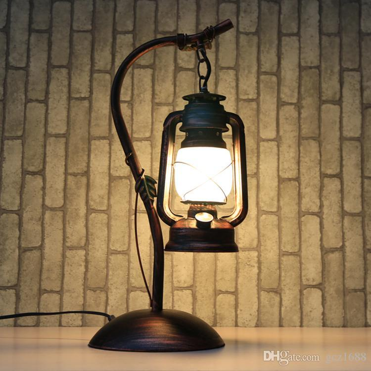 online cheap reminisced lamp vintage antique lamps iron kerosene lamp  lantern FVTGMJR