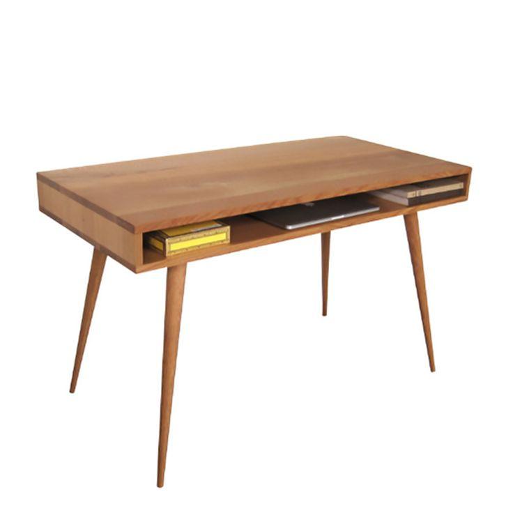 open mid century modern desk SUQNOXS