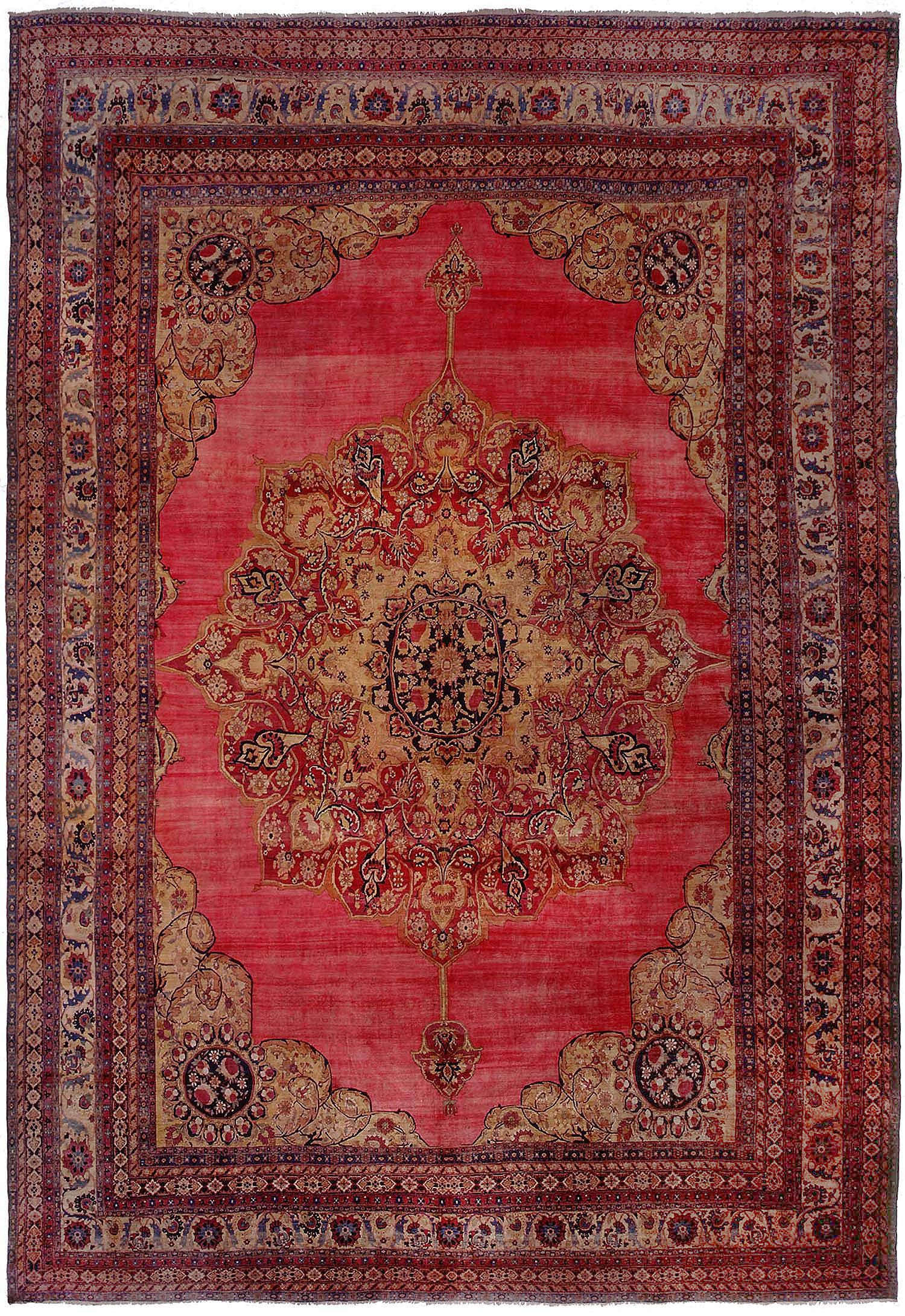 oriental rug large oversize antique kerman persian rug 43607 WMDNXOR