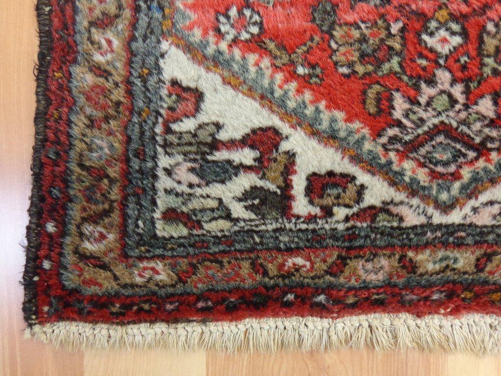 oriental rug ... small rug red vintage persian rug 2u0027 3 x 4u0027 hamedan wool EOJFDPW